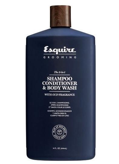 Мужской 3 в 1 Шампунь, кондиционер и гель для душа Chi Esquire Grooming