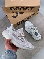 Женские кроссовки в стиле Adidas Yeezy Boost 350 Static All Reflective (36, 37, 38, 39, 40 размеры), фото 3