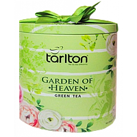 Чай зелёный Tarlton Garden of Heaven Райский Сад 100г ж/б.