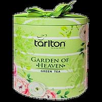 Чай зелёный Tarlton Garden of Heaven Райский Сад 100г ж/б.