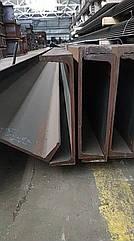 Швелер 40П, 40У ст3, 09Г2С, S355  мера 12м