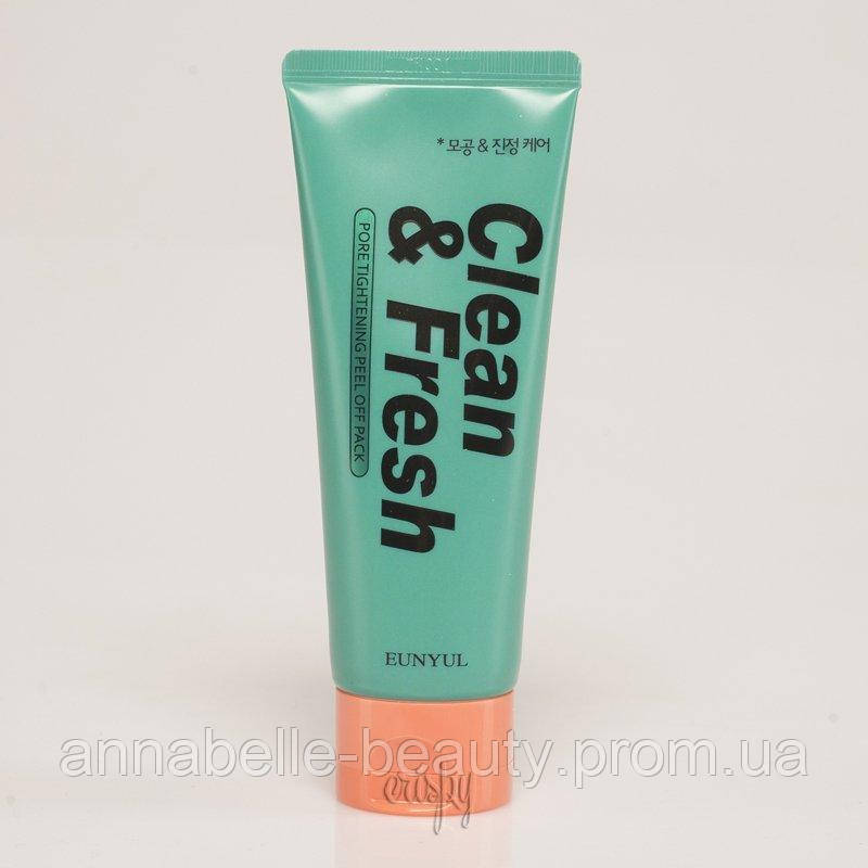 Маска-плівка для звуження пор EUNYUL Clean & Fresh Pore Tightening Peel Off Pack - 120 мл