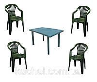 Комплект мебели Velo 4 зеленый, фото 1