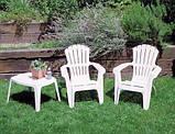Кресло Dolomiti белое, фото 3