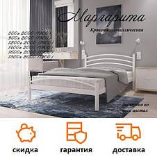 Кровать кованая Маргарита фабрика Металл Дизайн, фото 3