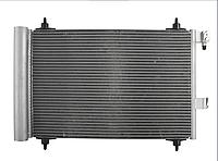 Радиатор кондиционера, конденсор  PEUGEOT 407 (04-) 3.0 I 24V БЕНЗ. АВТ. A/C +/- A/A