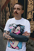 Мужская футболка Punch - Comics, White, фото 1