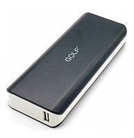 Портативное зарядное устройство Golf GF211 10400 mAh Black / White