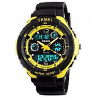 Наручные часы водонепроницаемые мужские красные Skmei 0931