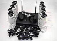Система відеоспостереження (UKC Video Decorder) HD NVR Kit 8008 WiFi на 8 камер