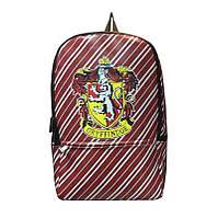 Водонепроницаемый рюкзак Гарри Поттер с лого Гриффиндор Harry Potter Gryffindor Logо HP