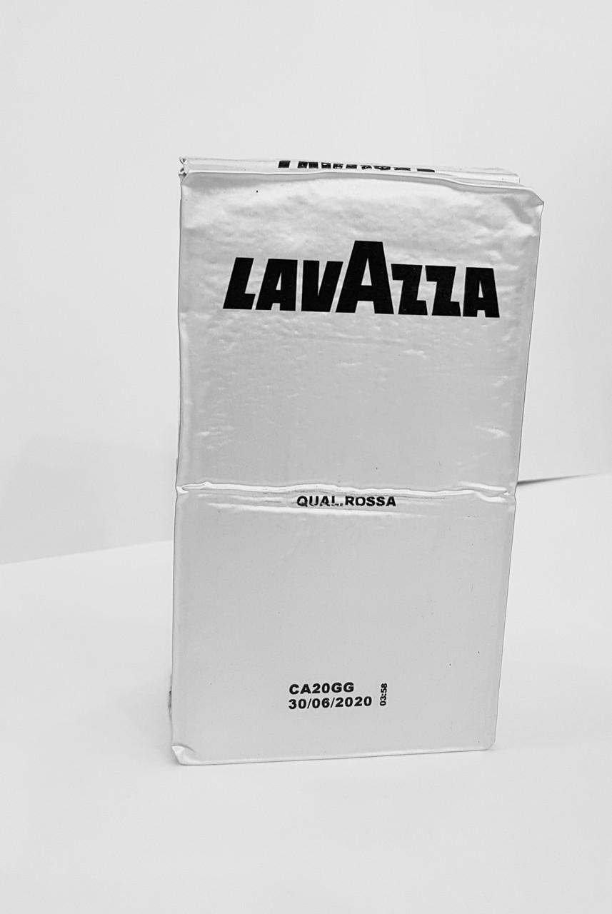 Кофе молотый Lavazza Qualità Rossa 250 г | Смесь арабики и робусты в экономной упаковке