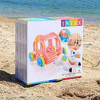 Надувной игровой центр Intex 56514 «Карета принцессы»