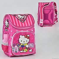 """Рюкзак школьный """"Hello Kitty"""" 1 отделение, 3 кармана, спинка ортопедическая N 00173"""