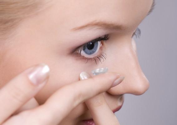 Мякі контактні лінзи