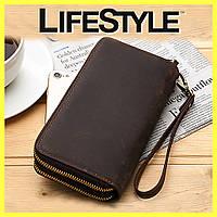 Мужской кошелек портмоне клатч Baellerry Classic leather
