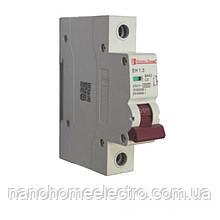 Автоматический выключатель 1 полюс 3 A