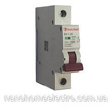 Автоматический выключатель 1 полюс 20 A