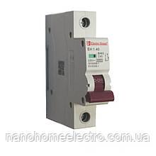 Автоматический выключатель 1 полюс 40 A