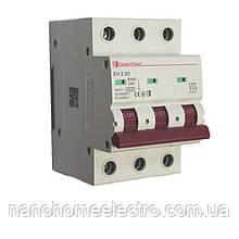 Автоматический выключатель 3 полюса 50 A