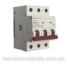 Автоматический выключатель 3 полюса 63 A