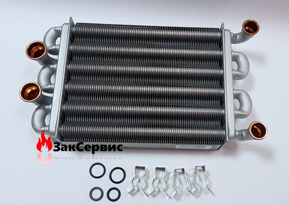 Битермический теплообменник на газовый котел Ariston EGIS - AS (короткий)65106300