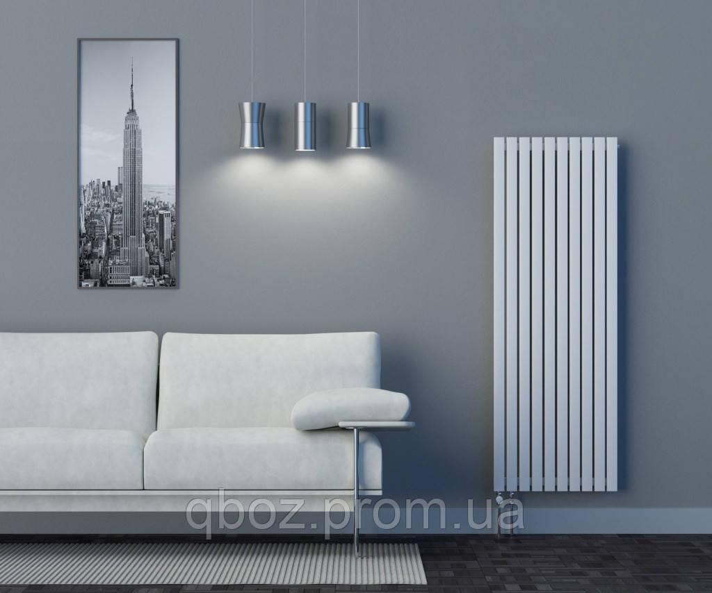 Высокие дизайнерские стальные радиаторы EliTerm LINX высота - 1400 мм