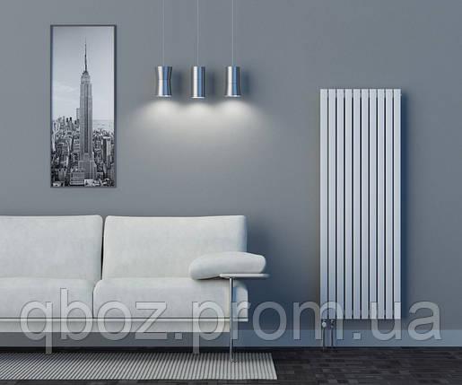 Высокие дизайнерские стальные радиаторы EliTerm LINX высота - 1400 мм, фото 2