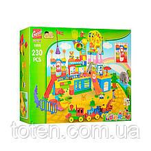 Дитячий конструктор Gorock 1055 (230 дет) Парк розваг Р