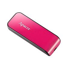 Флеш USB Apacer AH334 16GB Розовый (AP16GAH334P-1), фото 2