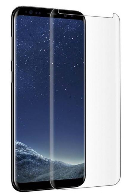 Защитное стекло Curved Glass для Samsung S9 Plus Full Glue (Жидкий клей + УФ лампа)