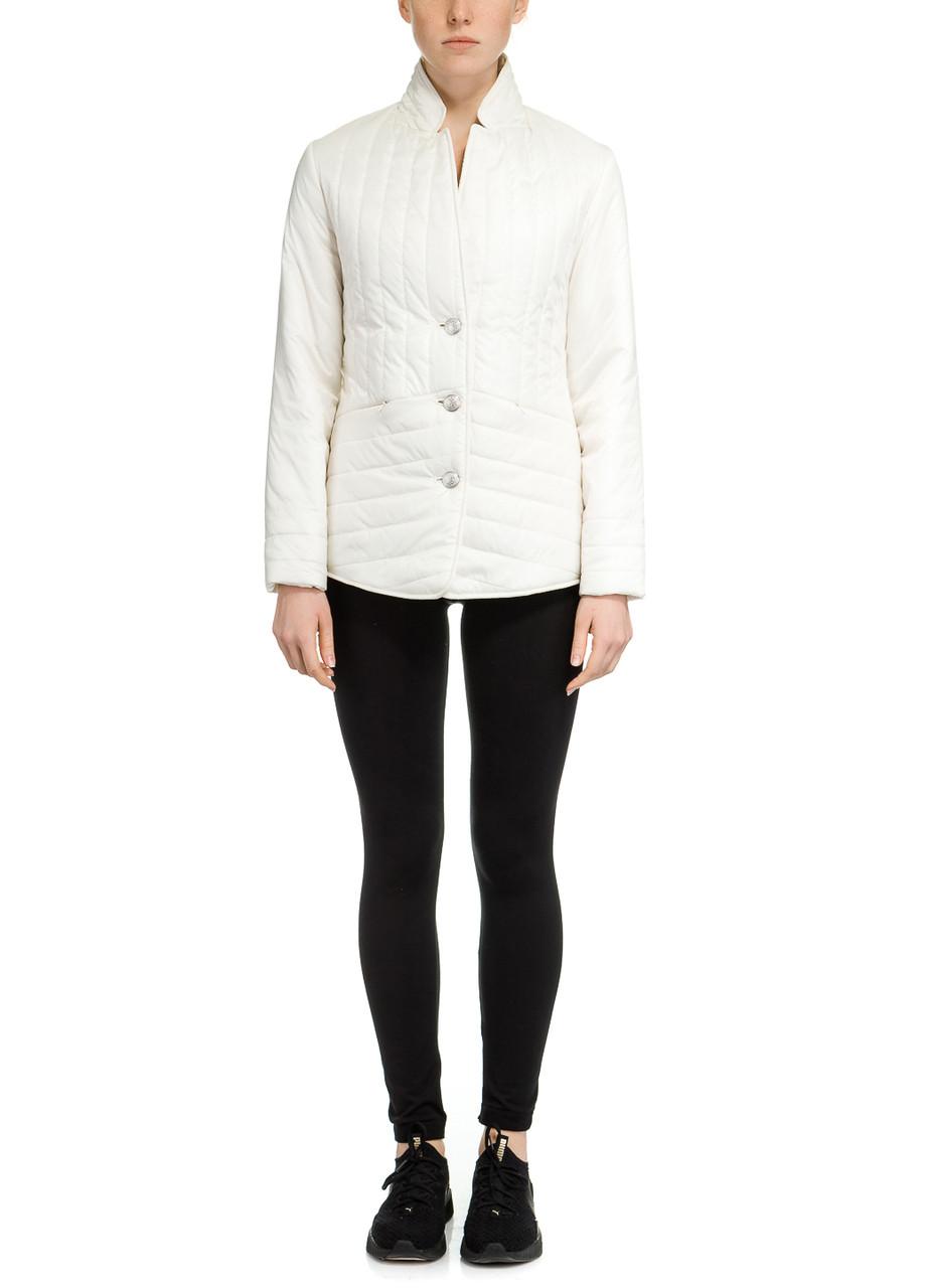 Куртка женская Monaco молочного цвета