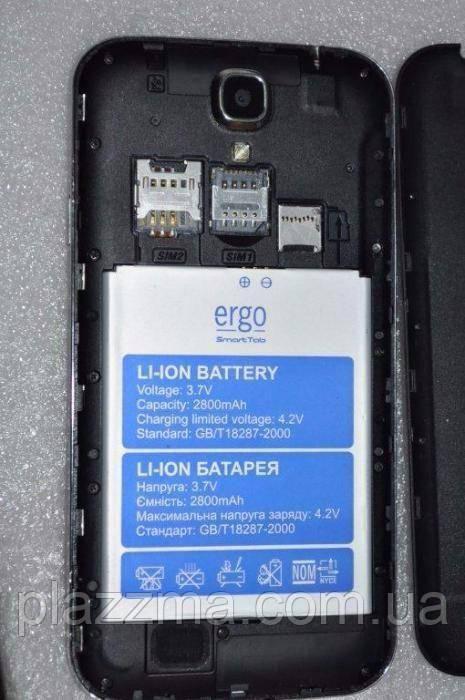 "СМАРТФОН ERGO SMARTTAB 3G 6.0"" BLACK на запчасти"