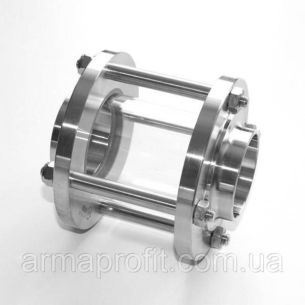 Диоптр трубный Ду40 AISI304 сварка-сварка