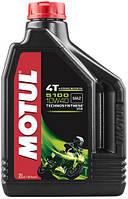 Motul 5100 4T SAE 10W40 2L Мотюль 4т масло для мотоциклов