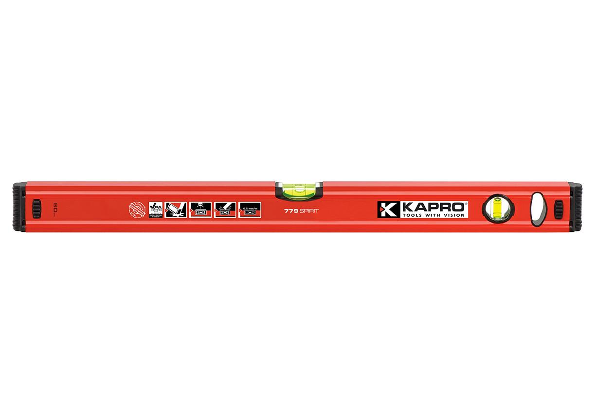 Уровень строительный KAPRO Spirit, 150 см (779-40-1500)