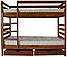 Кровать-трансформер 1 из натурального дерева ТМ Тис, фото 2
