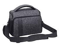 Фото сумка универсальная к фотоаппарату +дождевик Canon EOS, Nikon, Sony, Кэнон, Никон, Сони ( код: IBF026B ), фото 1