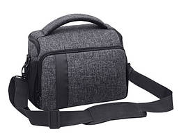 Фото сумка универсальная к фотоаппарату +дождевик Canon EOS, Nikon, Sony, Кэнон, Никон, Сони ( код: IBF026B )