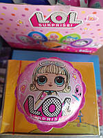 Vitaland ШАР сюрприз Л.О.Л. лялька + цукерки 15,4г*12шт***