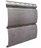 Сайдинг блокхаус Ю-ПЛАСТ Тимберблок Дуб Серебристый (0,782 м2)