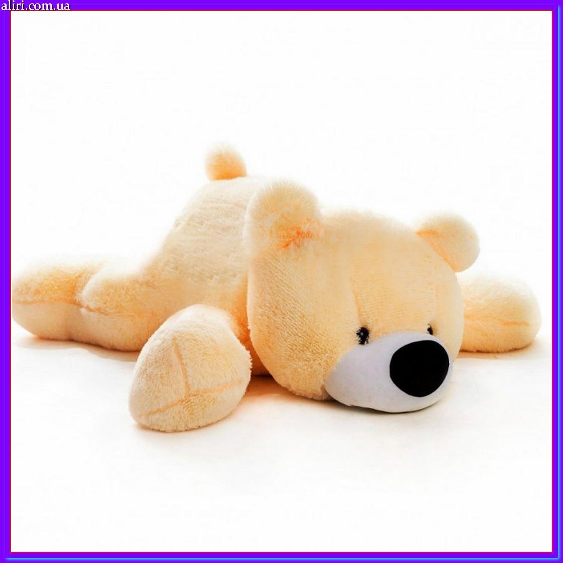 Милый лежачий мишка умка мягкая игрушка 70 см