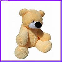 Большая мягкая игрушка медведь 77 см цвет персиковый