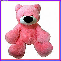 Большая мягкая игрушка медведь 77 см цвет розовый