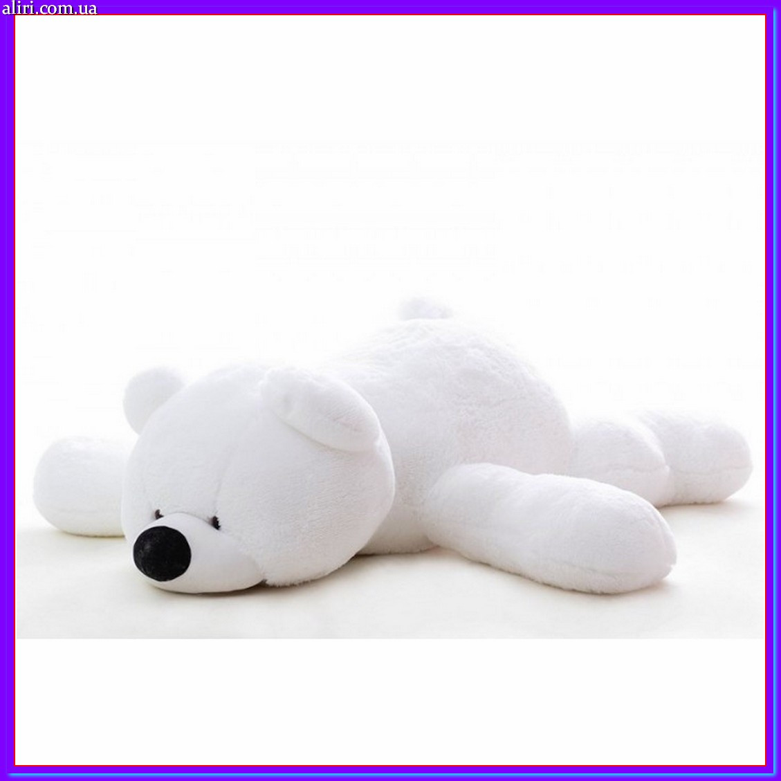 Мишка Тедди 100 см в белом цвете