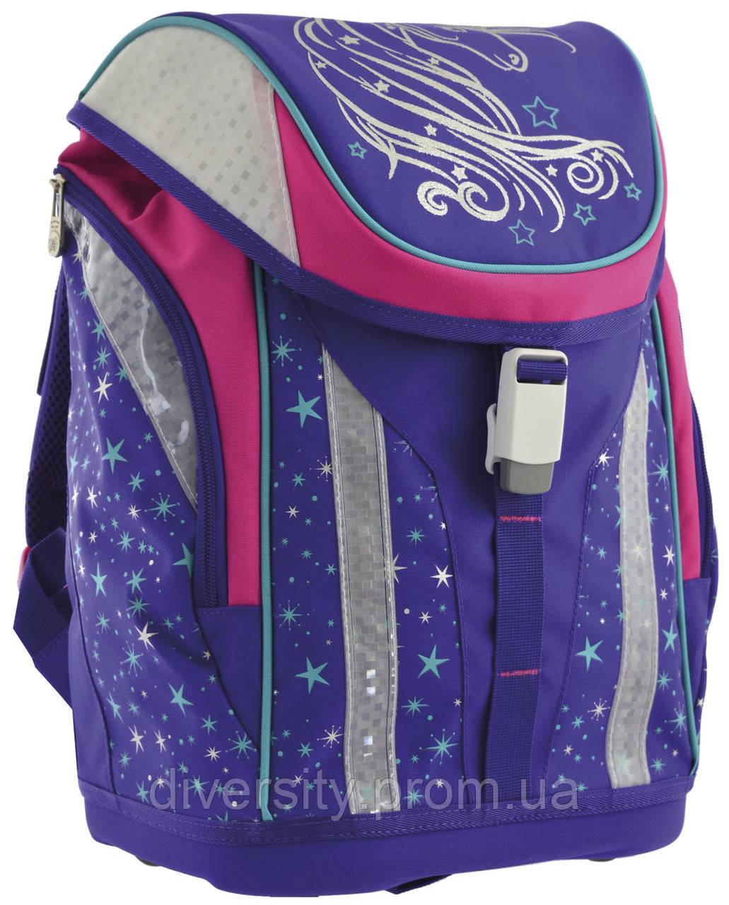"""Каркасный школьный рюкзак H-30 """"Unicorn""""серия """"Premmium"""" 556221"""