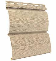 Сайдинг блокхаус Ю-ПЛАСТ Тимберблок Ясень Золотистый (0,782 м2), фото 1