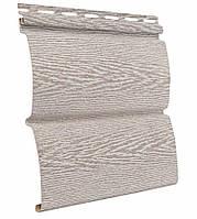 Сайдинг блокхаус Ю-ПЛАСТ Тимберблок Ясень Беленый (0,782 м2), фото 1