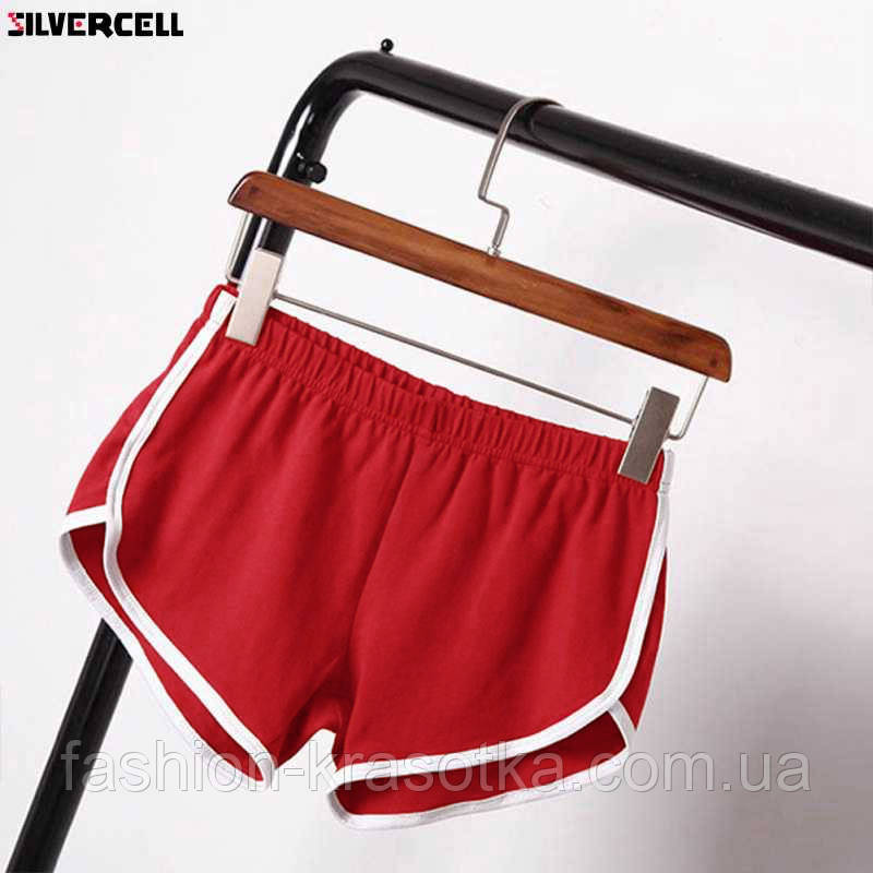 Модні молодіжні короткі шорти,тканина двунитка,розміри:42,44,46.