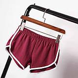 Модные молодежные короткие шорты,ткань двунитка,размеры:42,44,46., фото 2